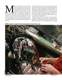 Marine Technology Magazine, page 28,  May 2017