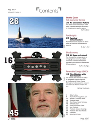 Marine Technology Magazine, page 2,  May 2017