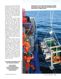 Marine Technology Magazine, page 43,  May 2017