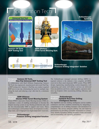 Marine Technology Magazine, page 56,  May 2017