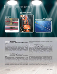 Marine Technology Magazine, page 58,  May 2017