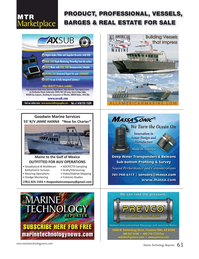 Marine Technology Magazine, page 63,  May 2017
