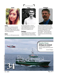 Marine Technology Magazine, page 6,  May 2017