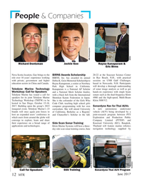 Marine Technology Magazine, page 12,  Jun 2017