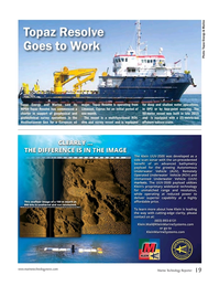 Marine Technology Magazine, page 19,  Jun 2017