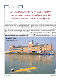 Marine Technology Magazine, page 22,  Jun 2017
