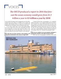 Marine Technology Magazine, page 22,  Jun 2017