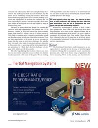 Marine Technology Magazine, page 23,  Jun 2017