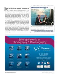 Marine Technology Magazine, page 25,  Jun 2017