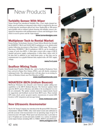 Marine Technology Magazine, page 42,  Jun 2017
