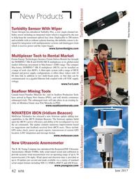 Marine Technology Magazine, page 42,  Jun 2017