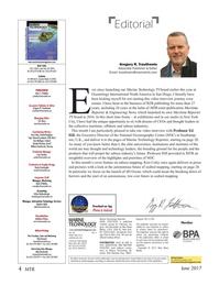 Marine Technology Magazine, page 4,  Jun 2017