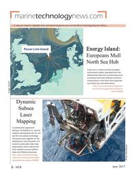 Marine Technology Magazine, page 6,  Jun 2017