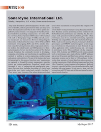 Marine Technology Magazine, page 10,  Jul 2017
