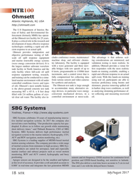 Marine Technology Magazine, page 18,  Jul 2017