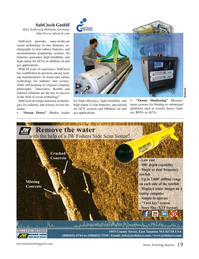Marine Technology Magazine, page 19,  Jul 2017