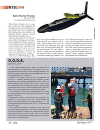 Marine Technology Magazine, page 24,  Jul 2017