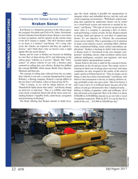 Marine Technology Magazine, page 32,  Jul 2017