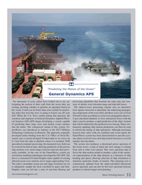 Marine Technology Magazine, page 33,  Jul 2017