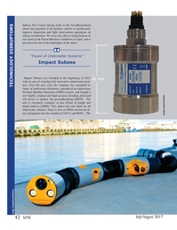 Marine Technology Magazine, page 42,  Jul 2017
