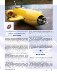 Marine Technology Magazine, page 45,  Jul 2017