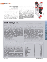 Marine Technology Magazine, page 50,  Jul 2017