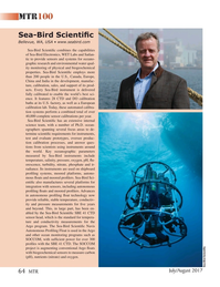 Marine Technology Magazine, page 64,  Jul 2017