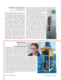 Marine Technology Magazine, page 71,  Jul 2017