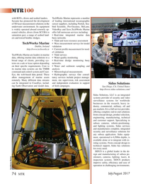 Marine Technology Magazine, page 74,  Jul 2017