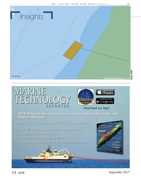 Marine Technology Magazine, page 14,  Sep 2017