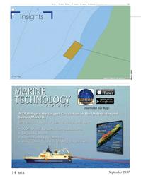 Marine Technology Magazine, page 14,  Sep 2017