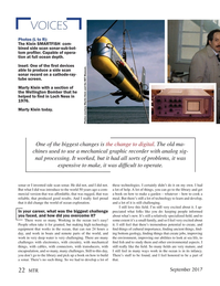 Marine Technology Magazine, page 22,  Sep 2017