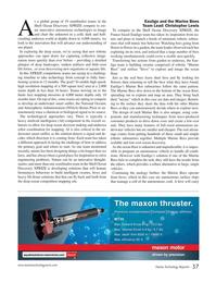 Marine Technology Magazine, page 37,  Sep 2017