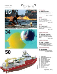 Marine Technology Magazine, page 2,  Sep 2017