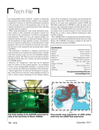 Marine Technology Magazine, page 46,  Sep 2017