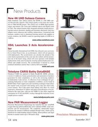 Marine Technology Magazine, page 54,  Sep 2017