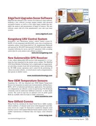 Marine Technology Magazine, page 55,  Sep 2017