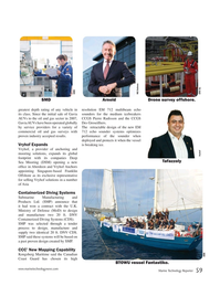 Marine Technology Magazine, page 59,  Sep 2017