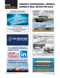 Marine Technology Magazine, page 63,  Sep 2017