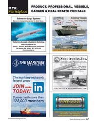 Marine Technology Magazine, page 63,  Sep 2017