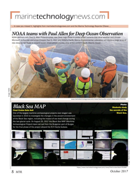 Marine Technology Magazine, page 8,  Oct 2017