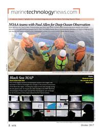 Marine Technology Magazine, page 8,  Oct 2017