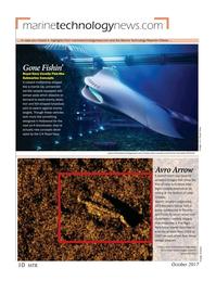 Marine Technology Magazine, page 10,  Oct 2017