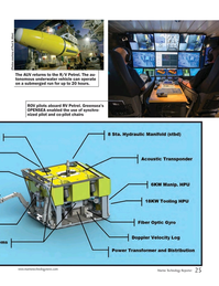 Marine Technology Magazine, page 25,  Oct 2017