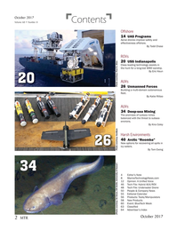 Marine Technology Magazine, page 2,  Oct 2017