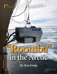 Marine Technology Magazine, page 40,  Oct 2017
