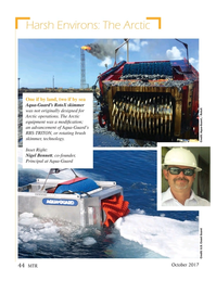 Marine Technology Magazine, page 44,  Oct 2017