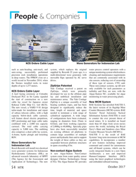 Marine Technology Magazine, page 54,  Oct 2017