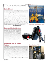 Marine Technology Magazine, page 56,  Oct 2017