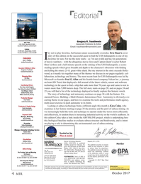 Marine Technology Magazine, page 4,  Oct 2017